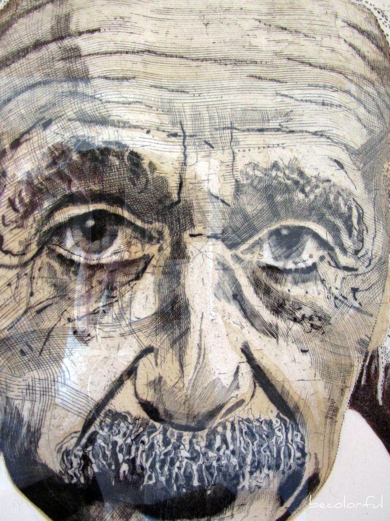 Einstein closer view