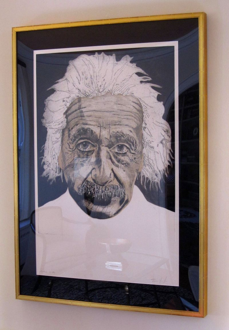 Einstein from right