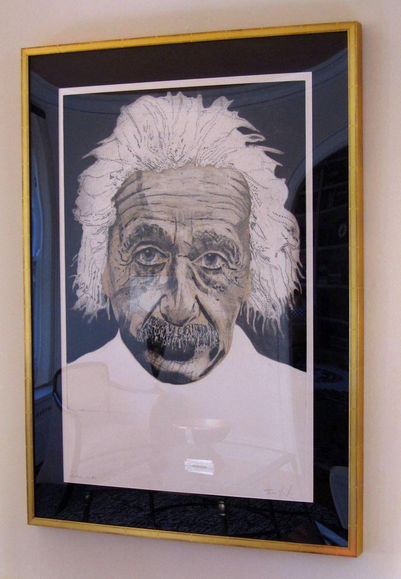 Einstein from right