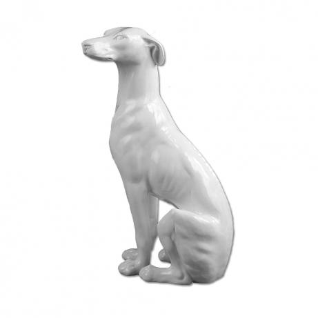 Ceramic whippet live like you