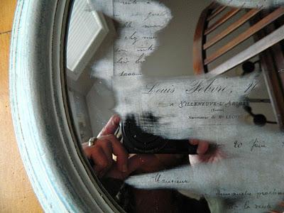 Mirror reveal