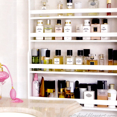 Perfume stoarge