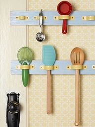 Pipe straps kitchen