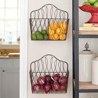 Wire baskets kitchen