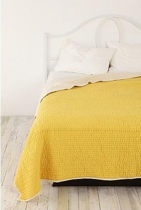 Yellow-seed-stitch-quilt urban outfitters