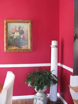 Raspberry dining room