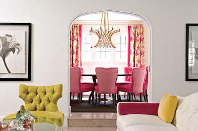 Pink via laissez faire design