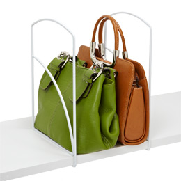 Purse storage shelf