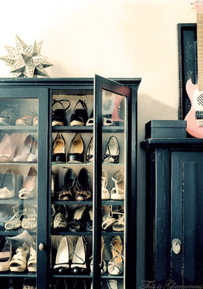 Shoes in furniture