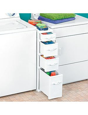 Laundry Storage Between Washer And Dryer
