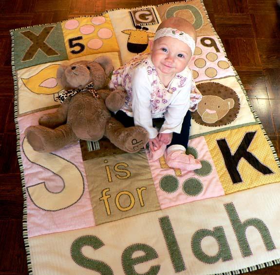 Selah-smile-w-bear