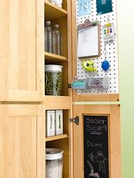 Message center kitchen