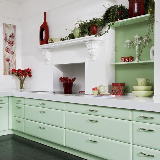 Mint via modern-decors