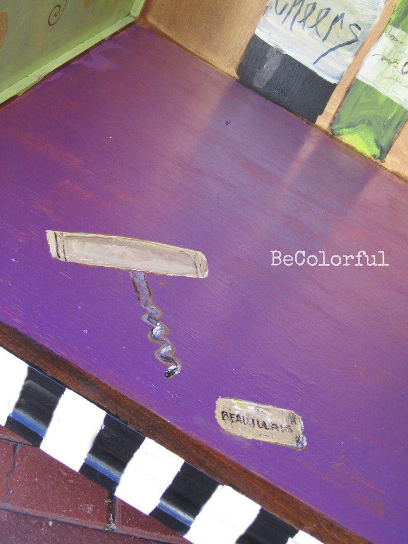 Wine cab cork screw