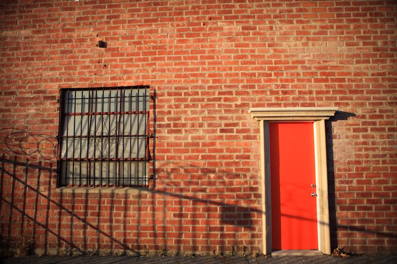 Atwater studio door