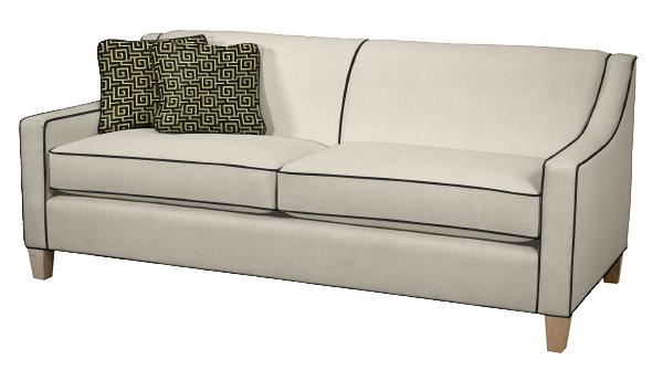 Norwalk blake sofa in black and white