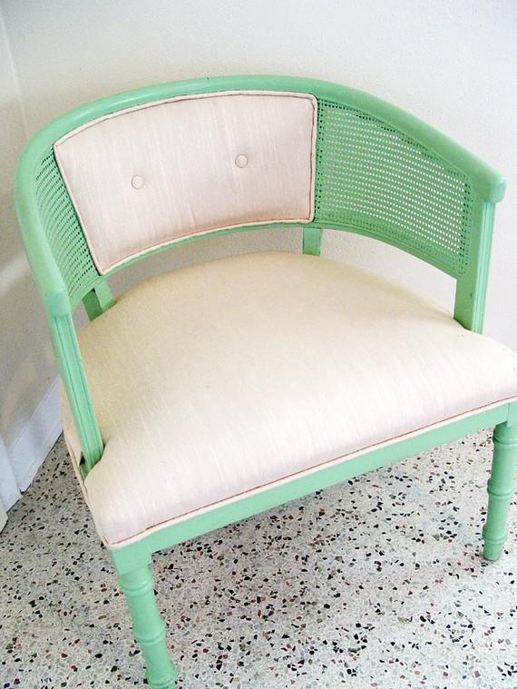 Mint the dappy bint Etsy mid century mint club chair