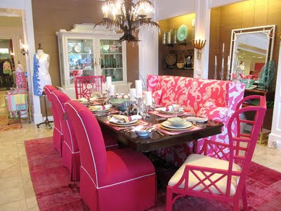 Lilly pulitzer via maryland pink and green