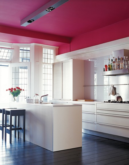 Pink_ceiling_kitchen_FE08 via design style