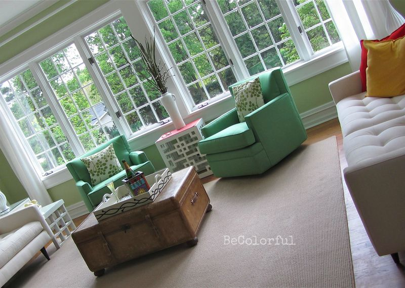 Green chairs better