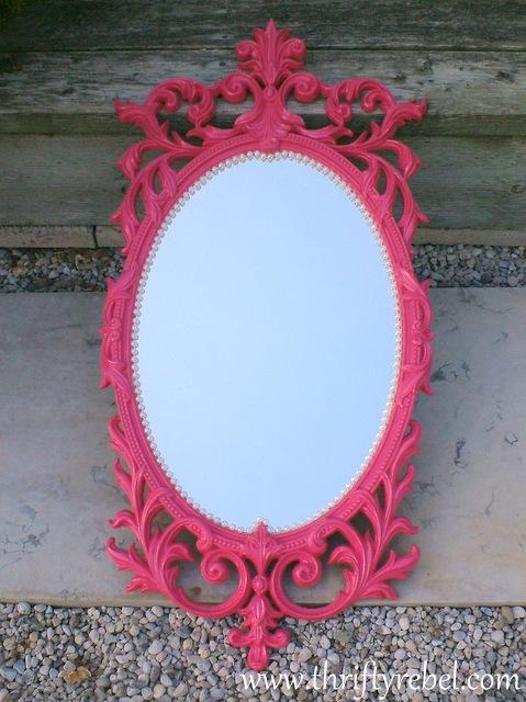 Gold mirror 5