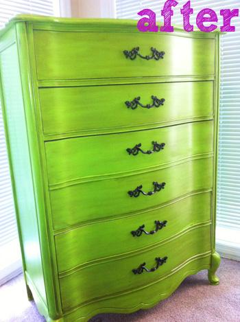 Green-dresser-after