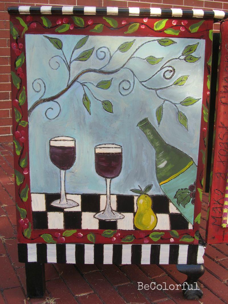 Wine cab left side