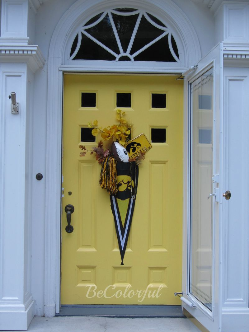 Fall front door 2012 old hawk flair