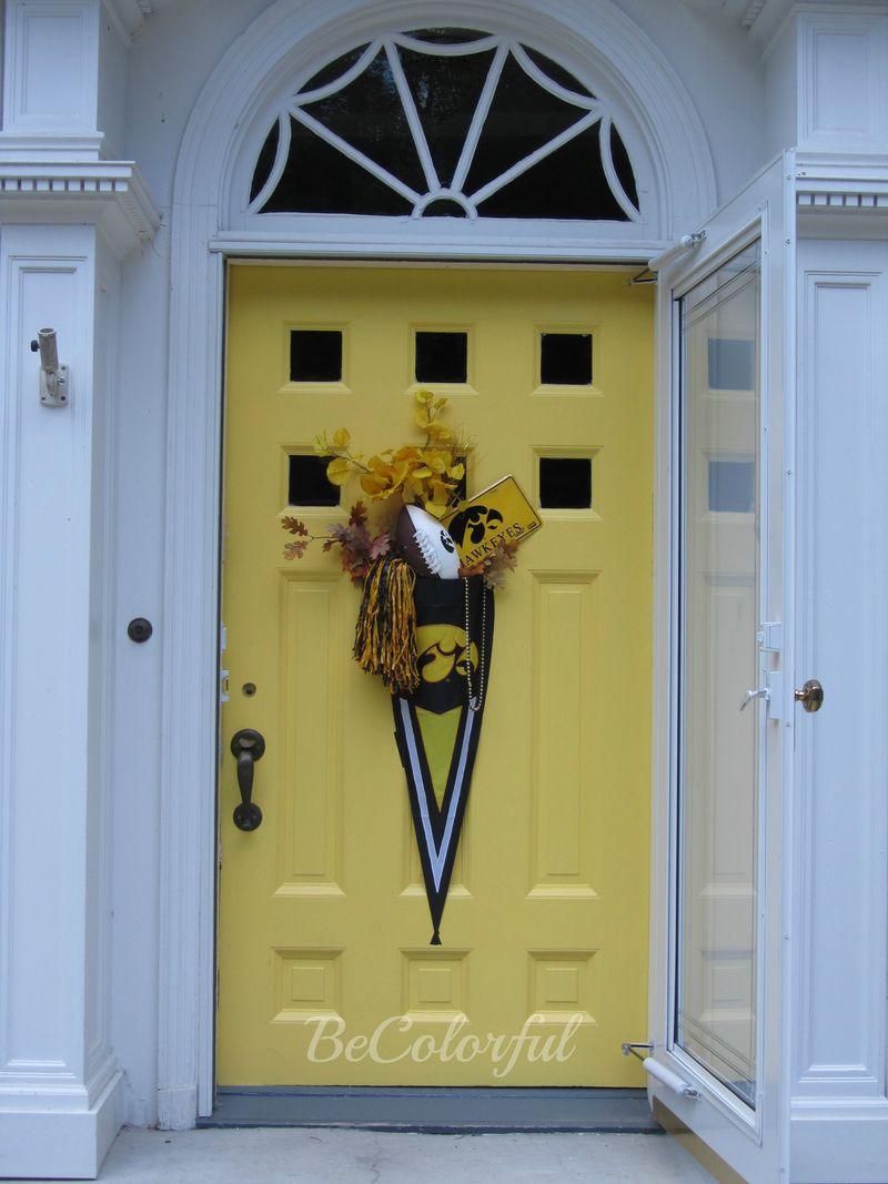 Fall front door 2012 old hawk flair