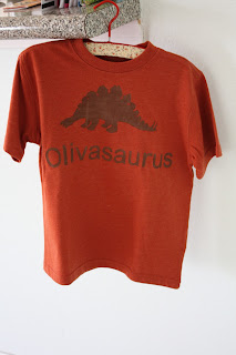 DIY Vintage Personalized Dinosaur T-Shirt (3)