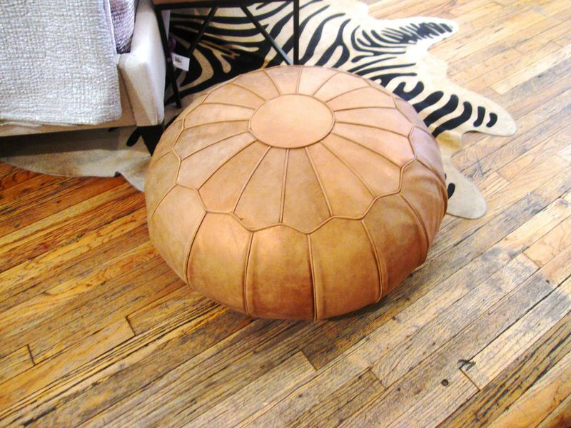 Copper hassock coco cozy