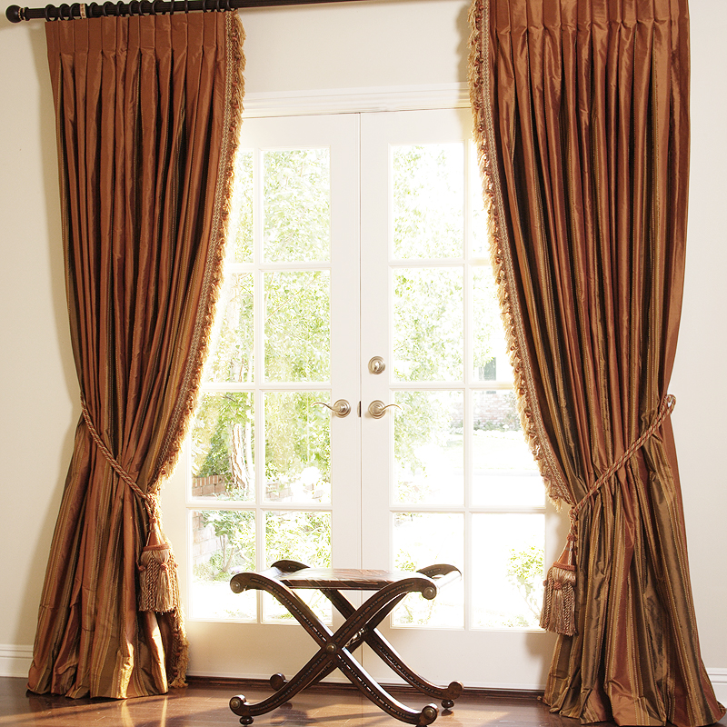 Copper drapes drapestyle.com