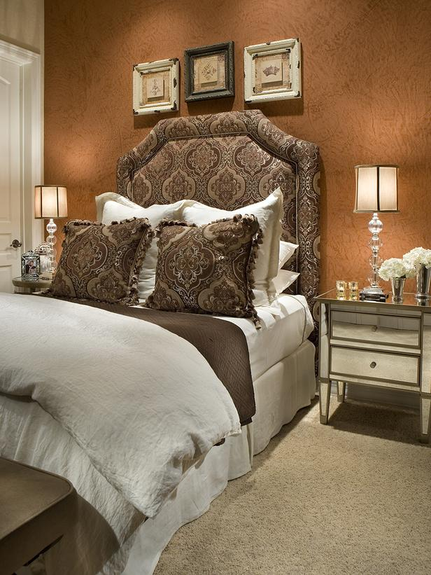 Copper bedroom with brown Aishah Colemand designs.wordpress