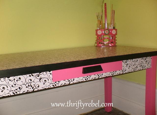 Desk makeover 5