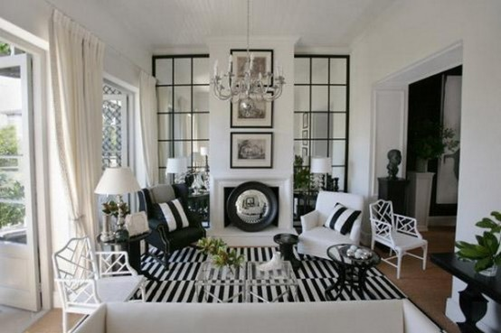 Black-and-white-in-traditional-living-rooms-44-554x369