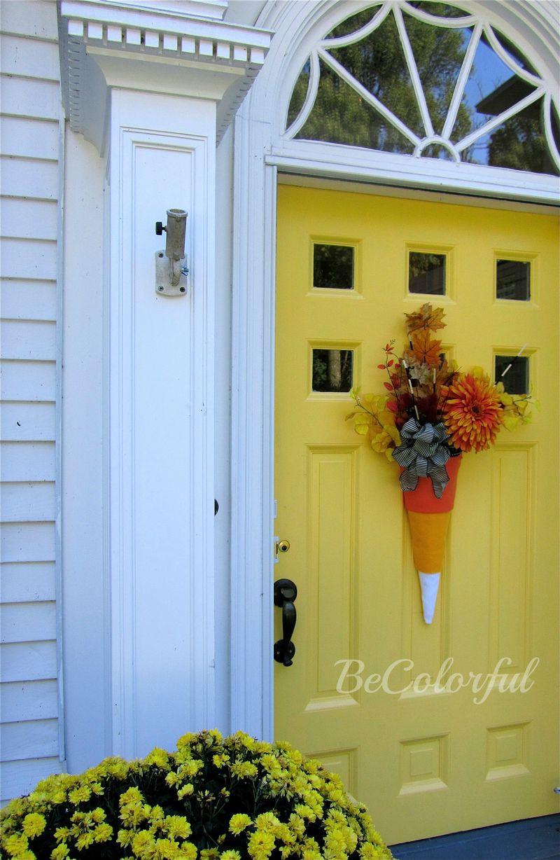 Fall front door 2012 fullwflowers