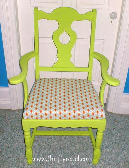 Green Armchair 1