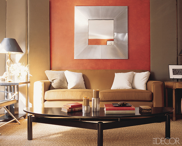 Copper wall elledecor
