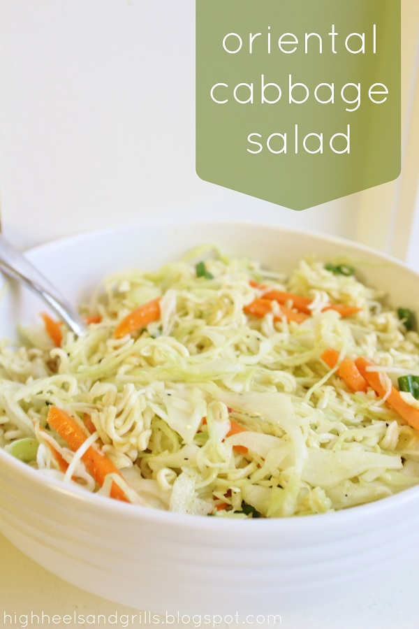 Oriental Cabbage Salad Edit