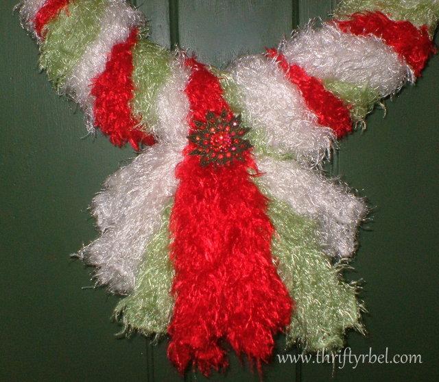 Scarf Wreath 5