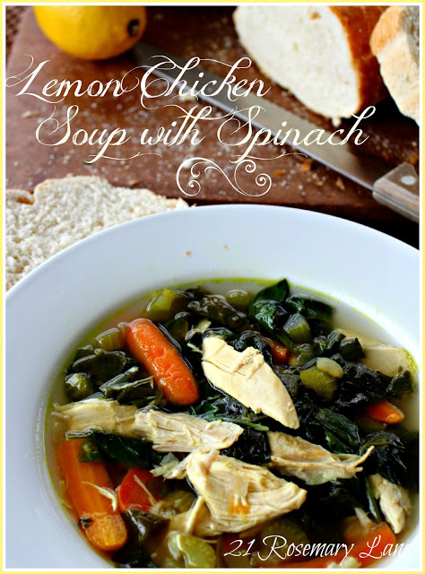 Lemon chicken soup 3