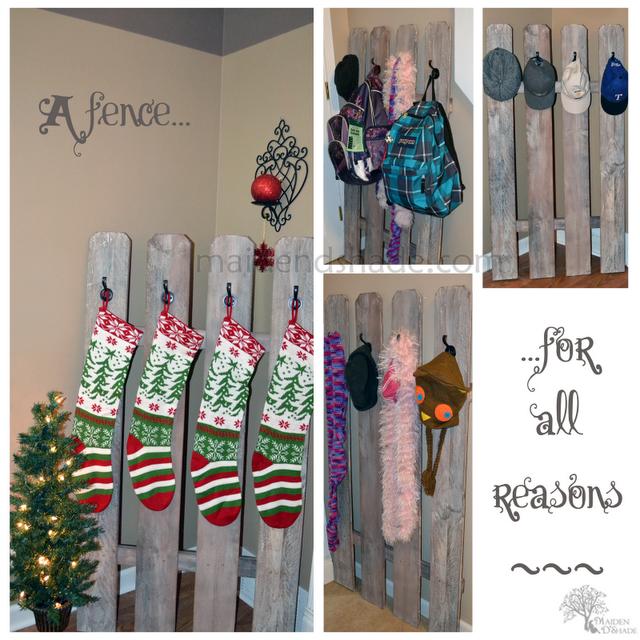Fence stocking holder14