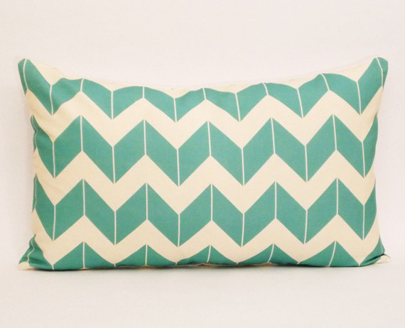 Http-::www.etsy.com:listing:79980121:turquoise-chevron-pillow-cover-chevron
