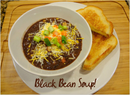 Super-easy-black-bean-soup