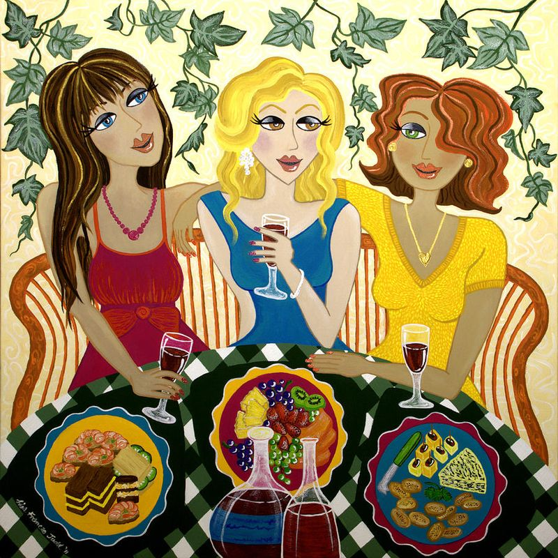 Three-girlfriends-celebrate-lisa-frances-judd