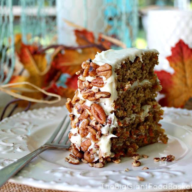 4 layer carrot cake 4