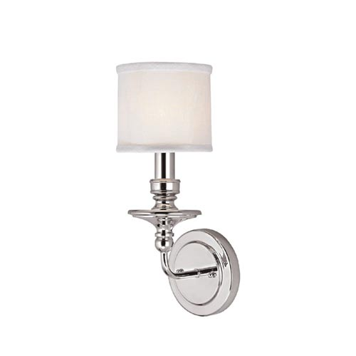 Midtown polished sconce