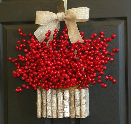 Etsy birch bark decoration