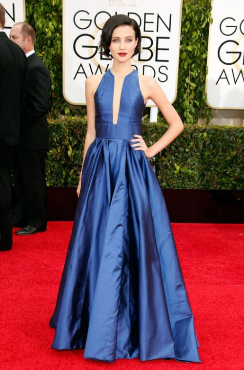 Actress-Julia-Goldani-Telles-attends-the-72nd-Annual-Golden-Globe-Awards-at-The-Beverly-Hilton-Hotel-on-January-11-2015