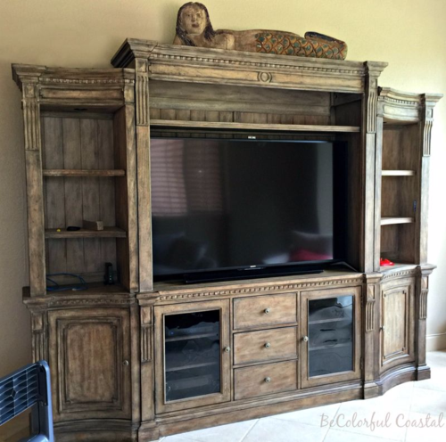 Hooker entertainment center